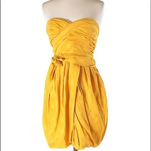 Marc by Marc Jacobs Sun-gold Strapless Dress